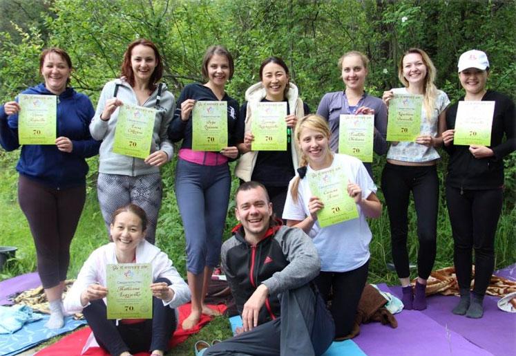 Обучение йога-инструкторов Алматы
