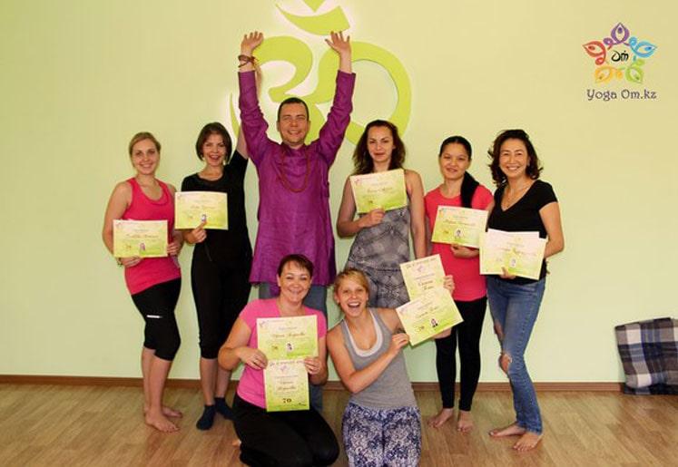 Виктор - школа йоги Алматы